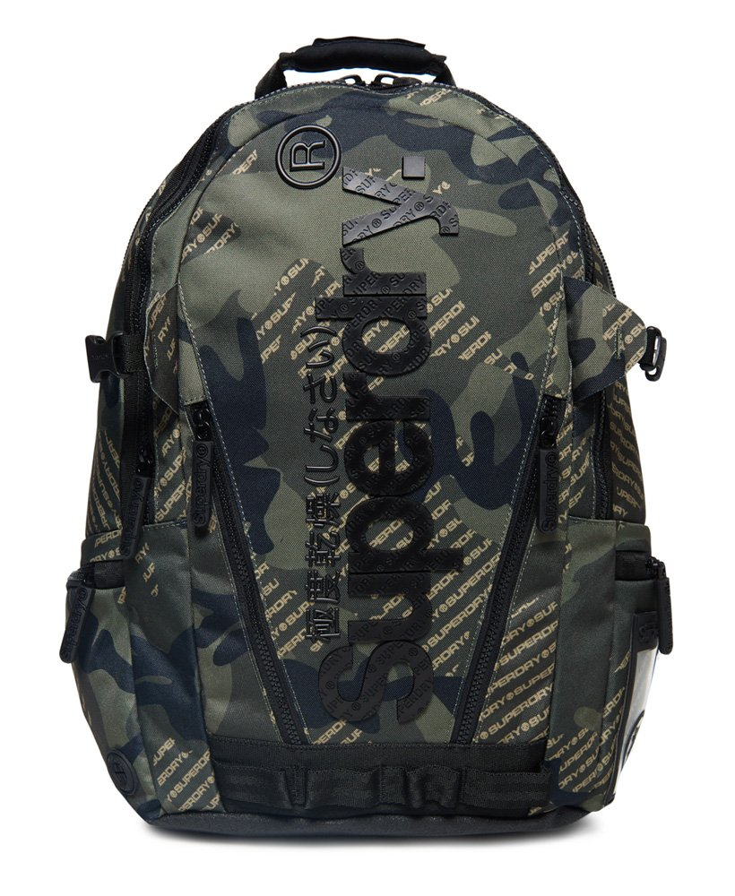 Superdry Camo Logo Tarp Backpack thumbnail 1