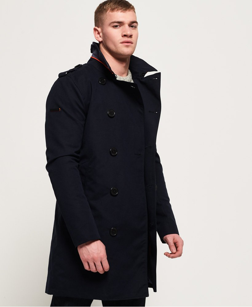 Superdry Rogue Sommer Trenchcoat Herren Jacken & Mäntel