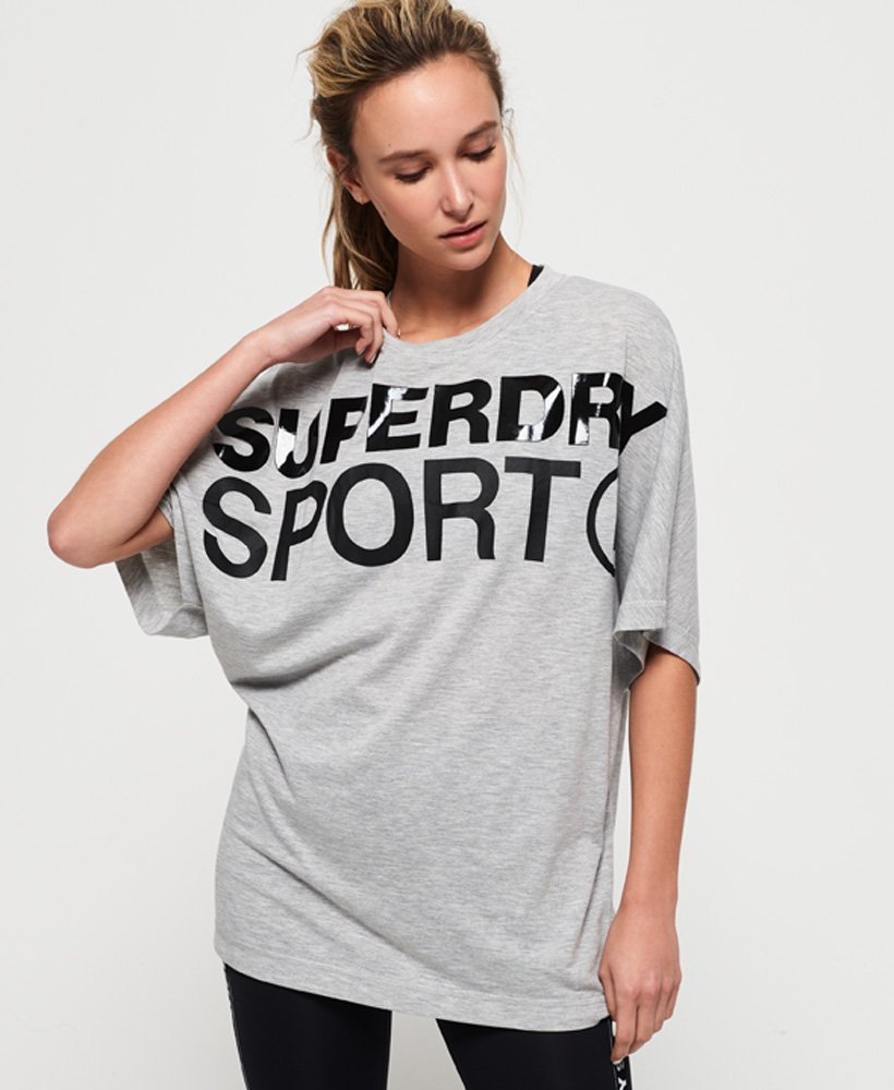 Superdry Active Loose Boyfriend T-Shirt  thumbnail 1