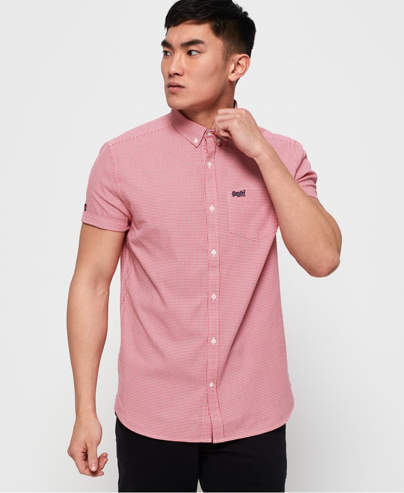 Superdry Premium University Oxford Short Sleeve Shirt thumbnail 1