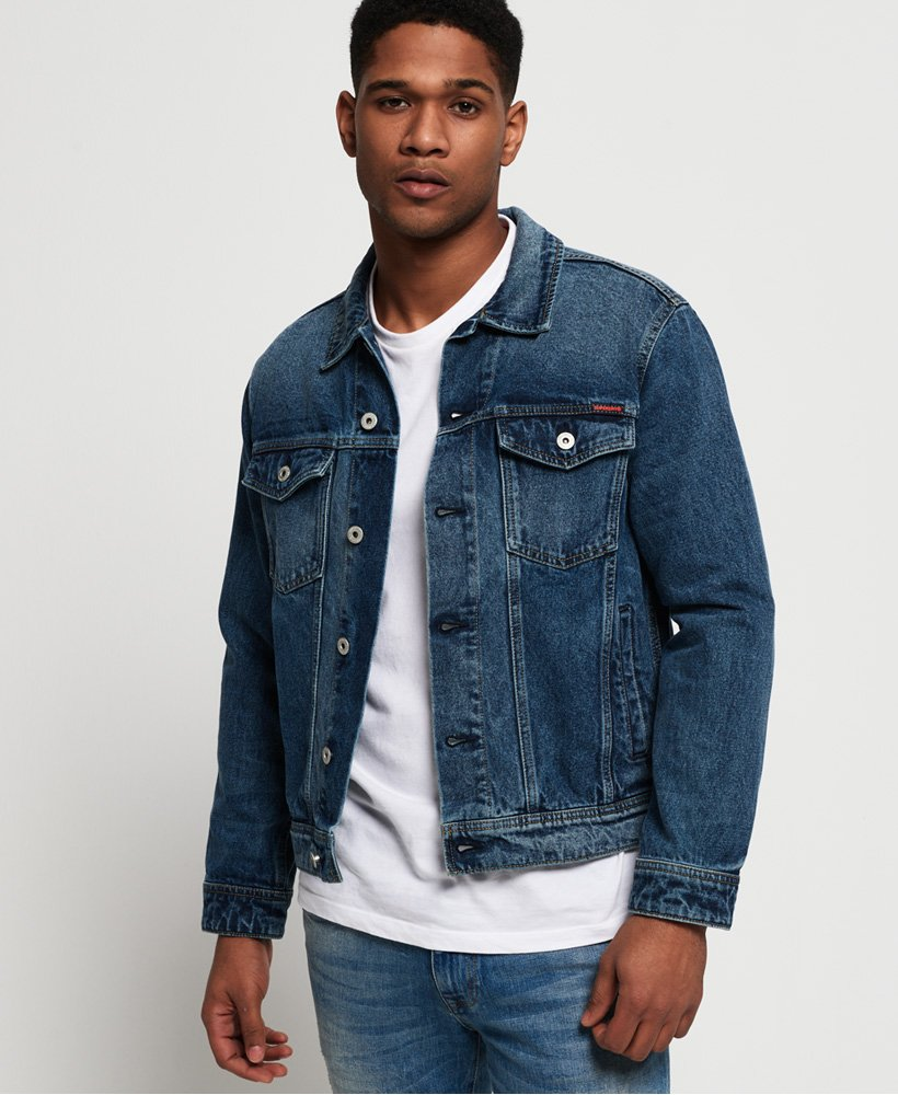 Superdry Giacca in denim Highwayman Trucker