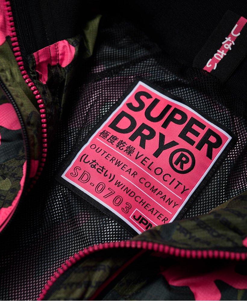 Superdry Tech Print Velocity Windcheater Blouson Femme