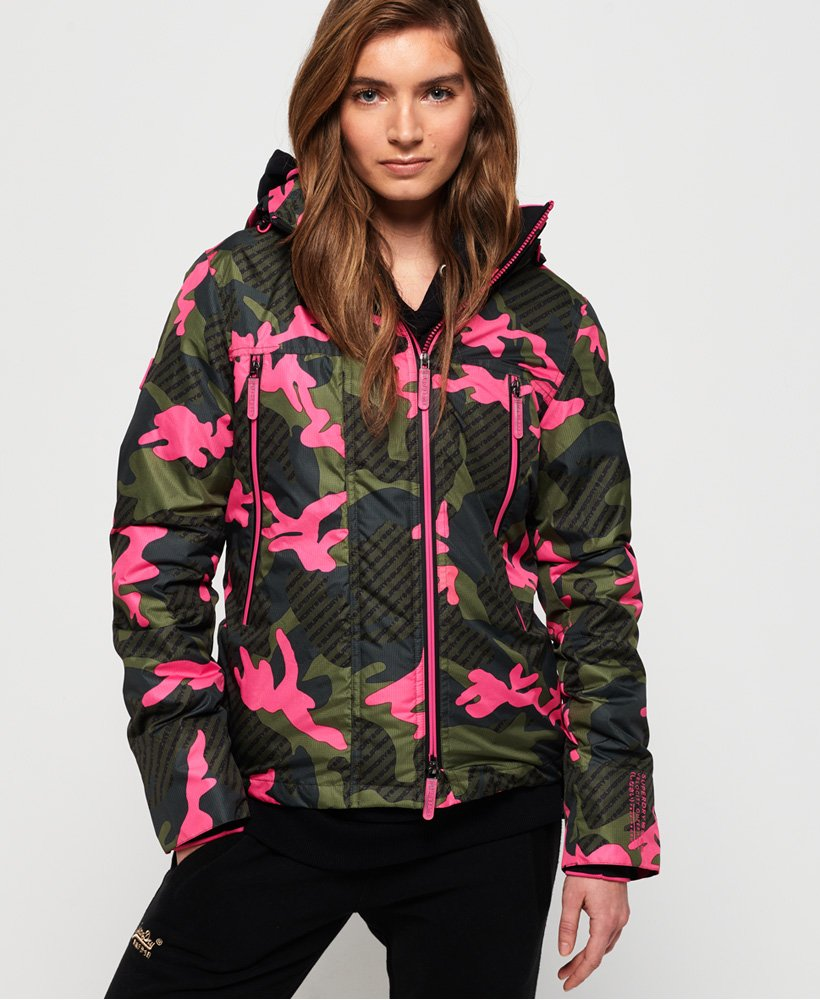 Superdry Funktionel Velocity SD-Windcheater med print thumbnail 1