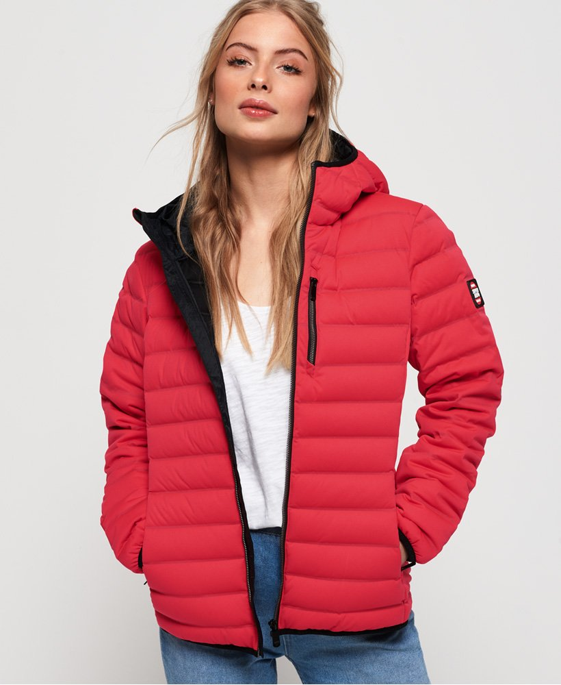 Superdry Contak Stretch-Daunenjacke thumbnail 1