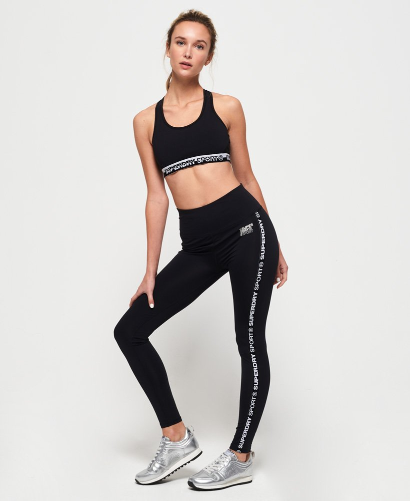 Superdry Core Branded Leggings thumbnail 1