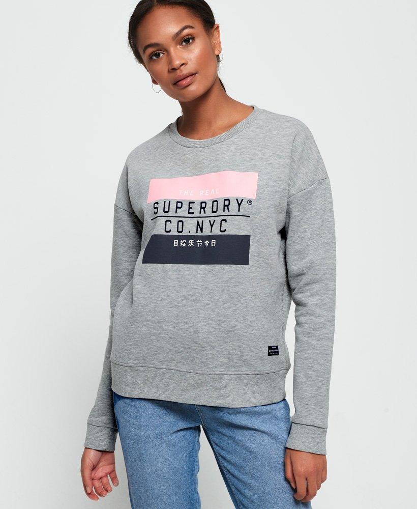 Superdry Yasmine Crew Sweatshirt thumbnail 1