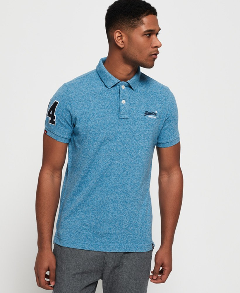 Superdry Classic Pique Polo Shirt thumbnail 1