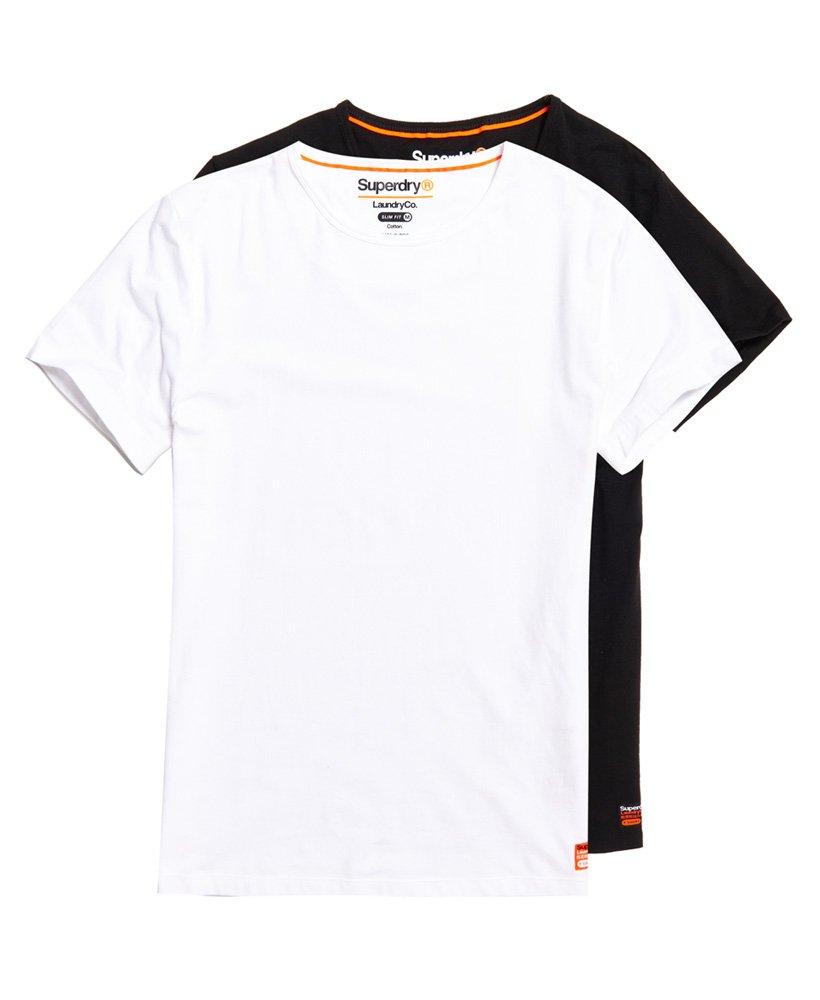 0c38f463f Superdry Pack de dos camisetas ajustadas de algodón orgánico SD Laundry  thumbnail 2
