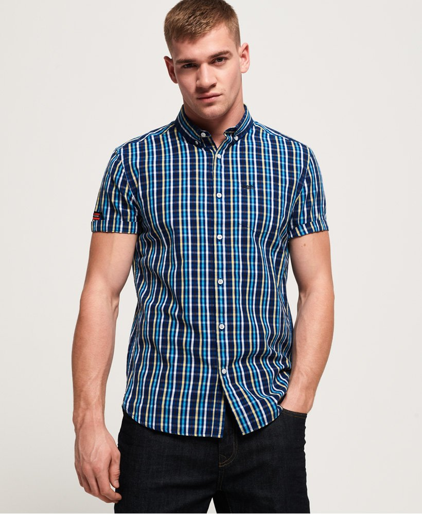 Superdry Premium University Oxford Langarmhemd thumbnail 1