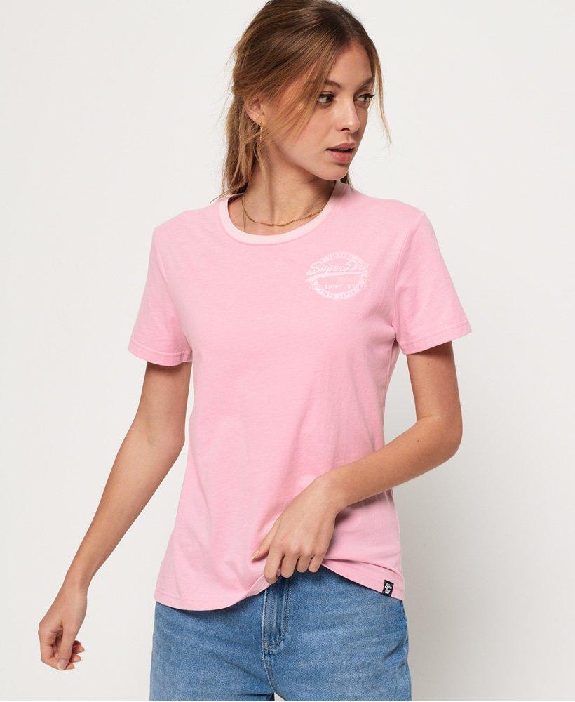 Superdry T-shirt Heritage con logo Vintage