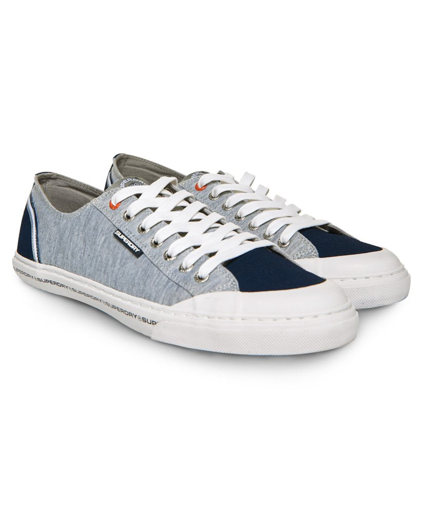 Superdry Low Pro Retro Trainers - Mens