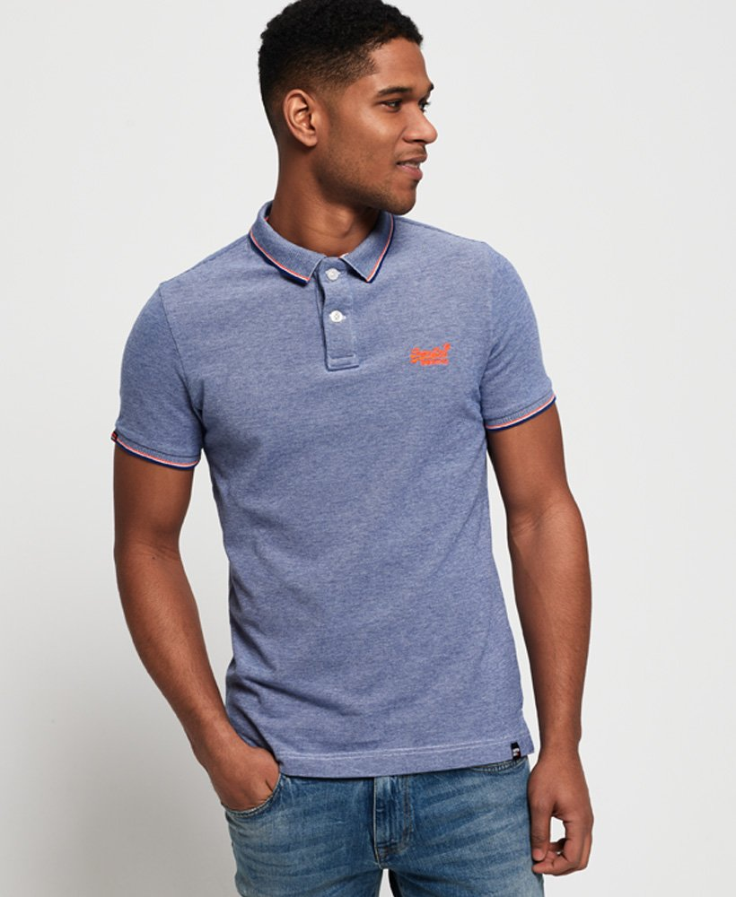 Superdry Polo in piqué Classic Poolside  thumbnail 1
