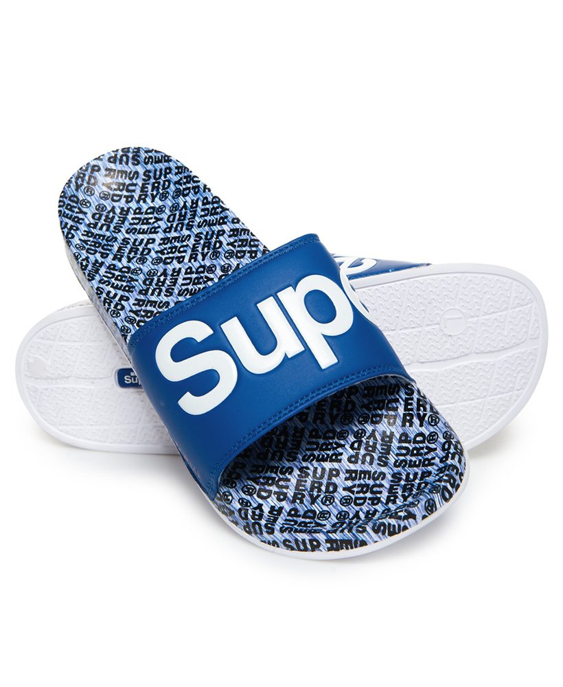 Superdry Chanclas de playa con estampado integral thumbnail 1