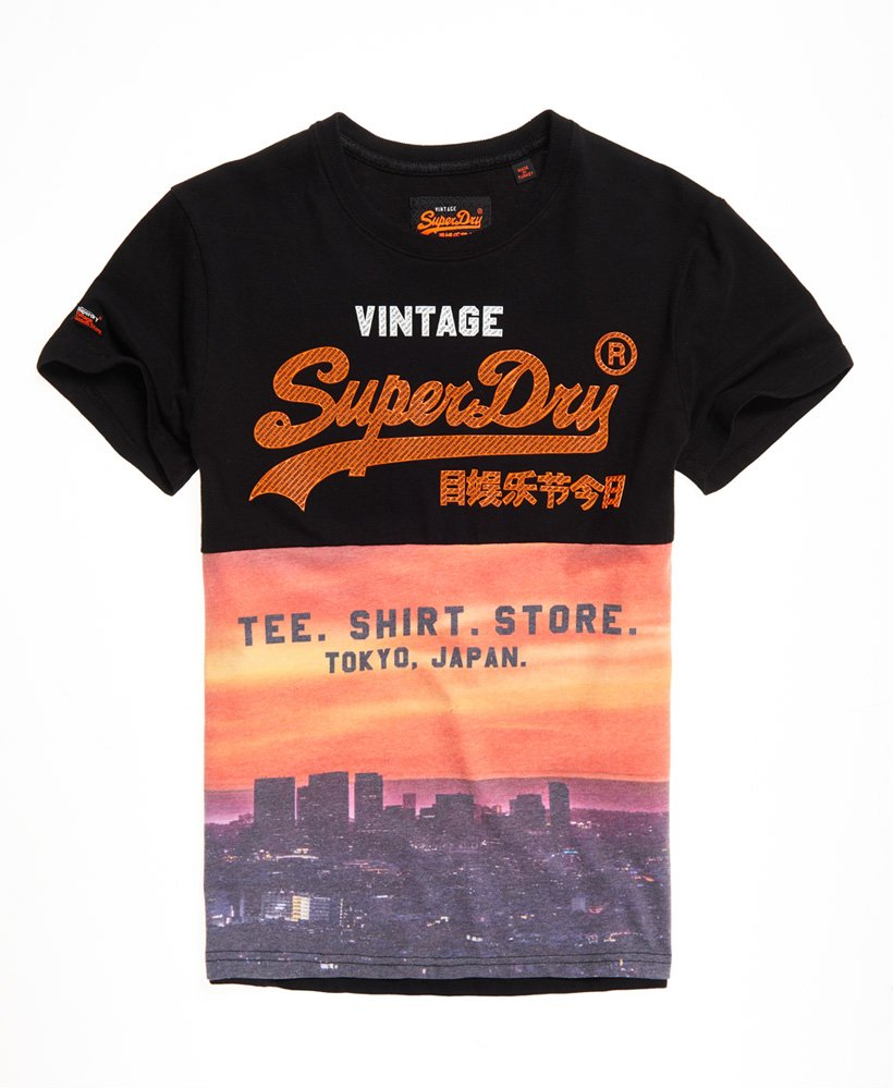 Superdry Shirt Shop Panel All Over Print T-Shirt