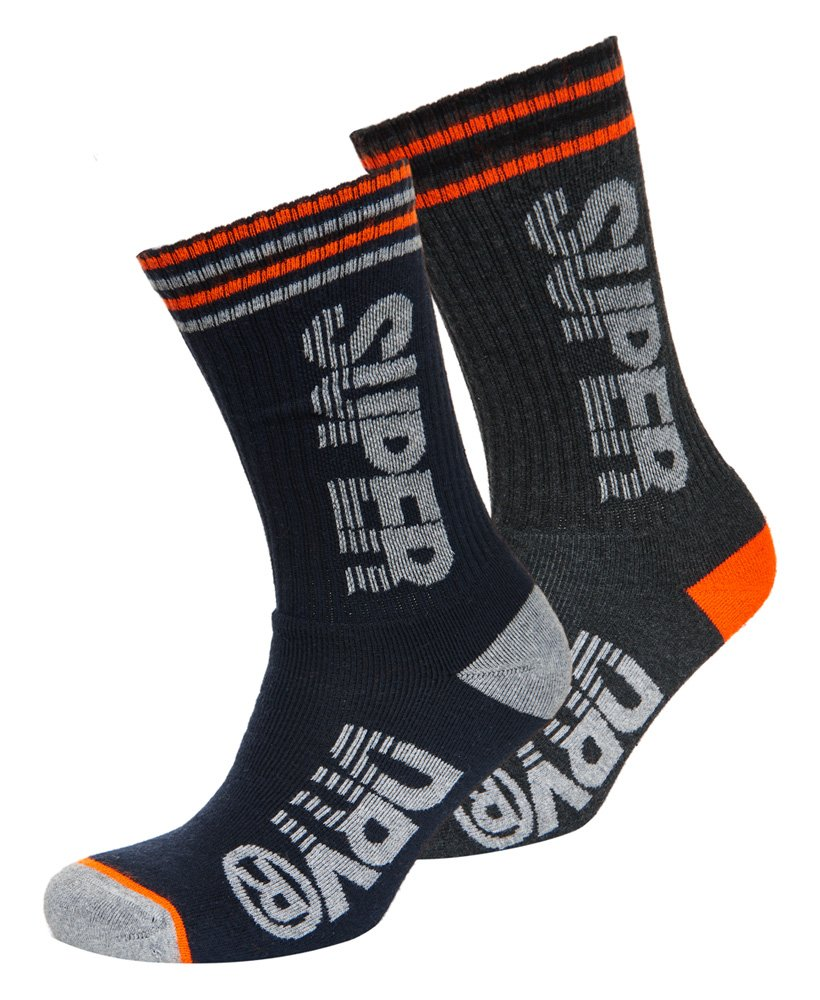 Superdry Sprint Sock Double Pack thumbnail 1