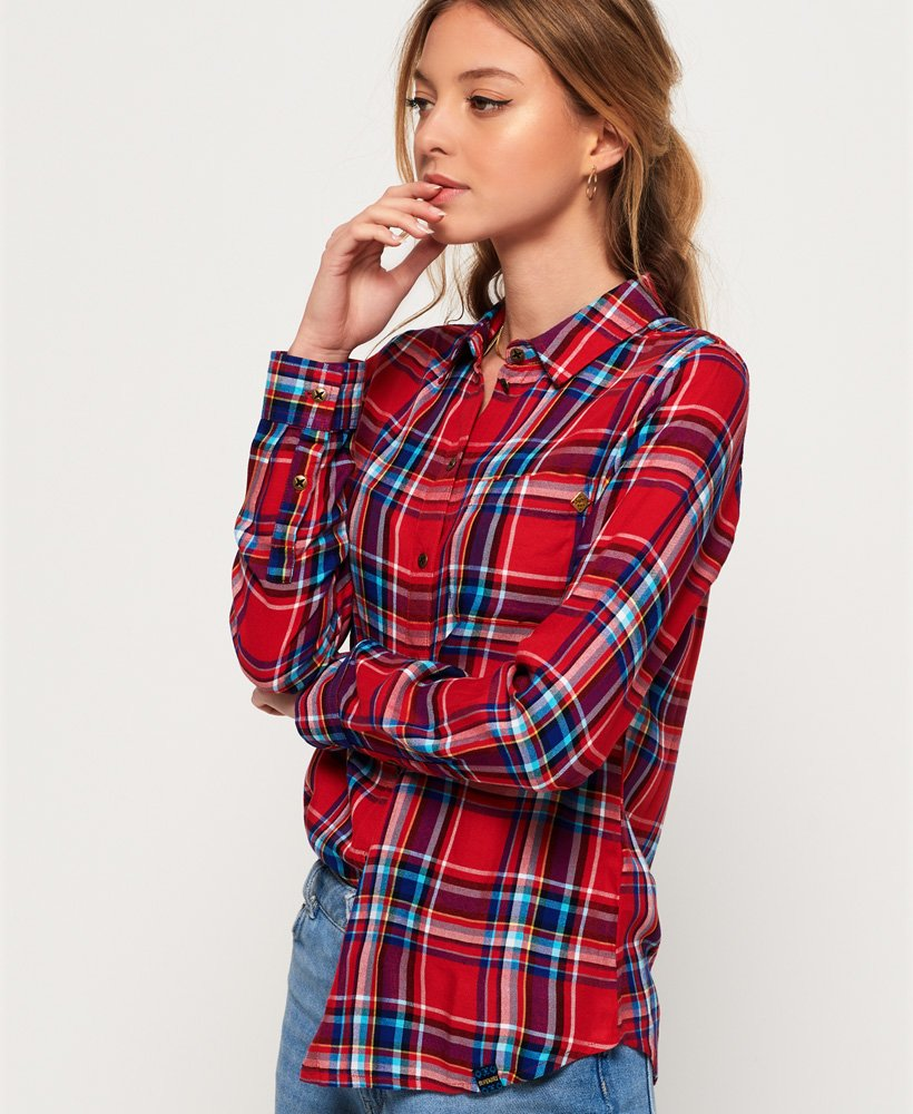 Superdry Anneka Check Shirt thumbnail 1