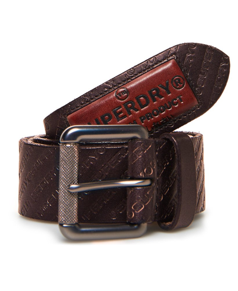 Superdry Badgeman All Over Print Belt thumbnail 1