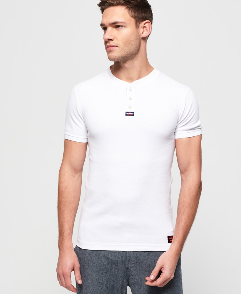 Superdry Heritage Short Sleeve Grandad Top