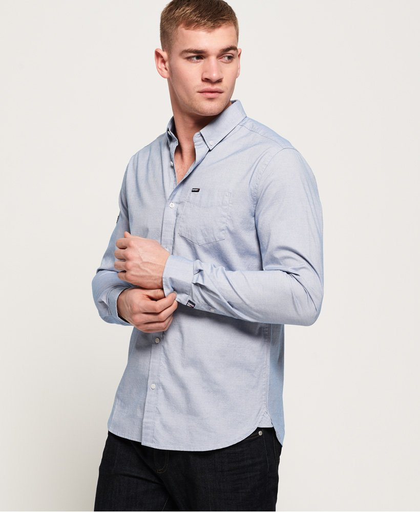 Superdry Premium University Oxford overhemd  thumbnail 1