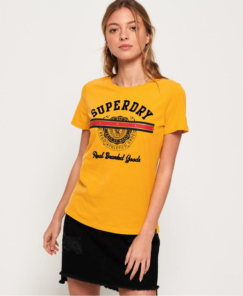 Superdry Heritage Crest Tape T-shirt thumbnail 1