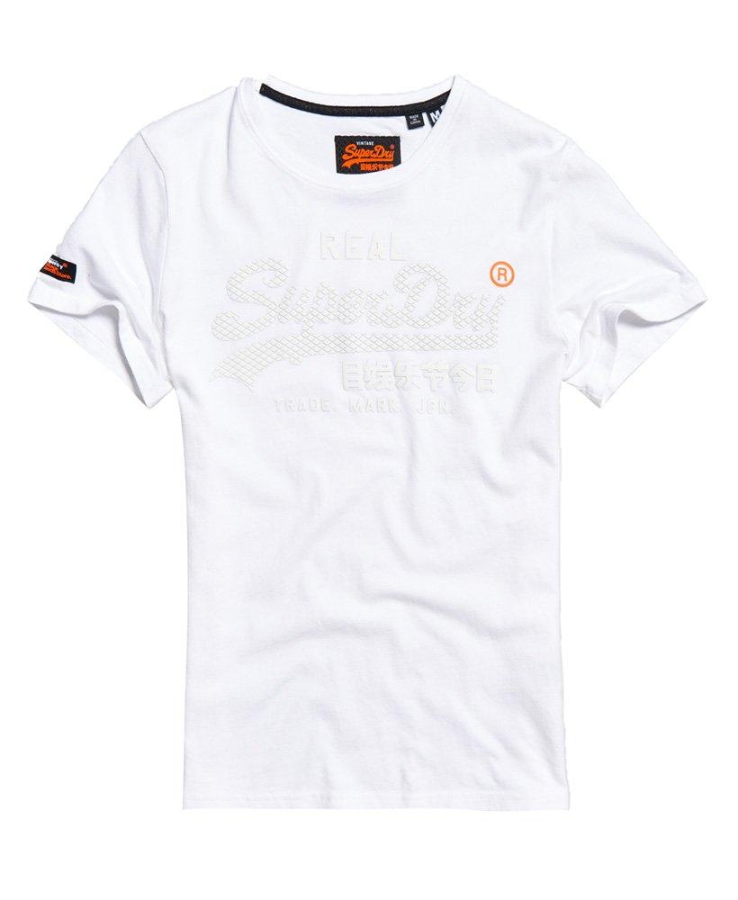 Superdry Camiseta monocromática con logo vintage