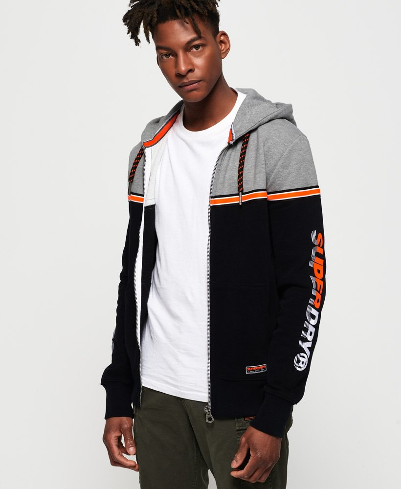 Superdry Applique Oversized Nu Lad Zip Hoodie