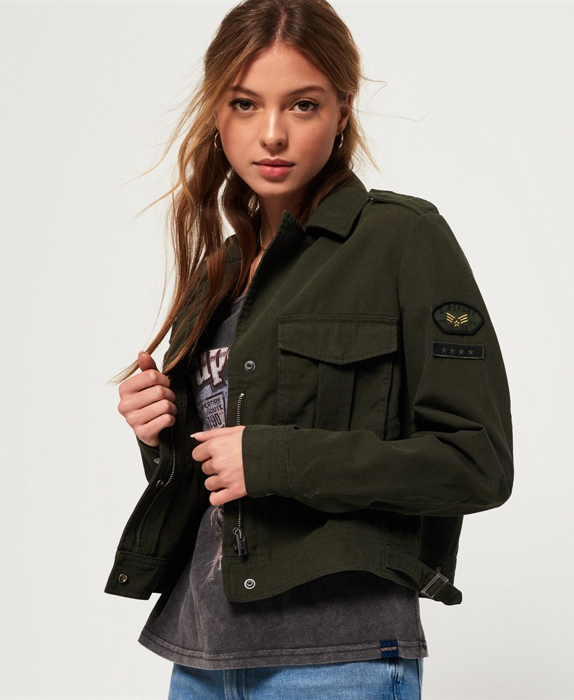 Superdry Military Crop Jacket thumbnail 1
