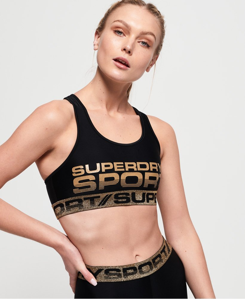 Superdry Bolt Sports Bra thumbnail 1