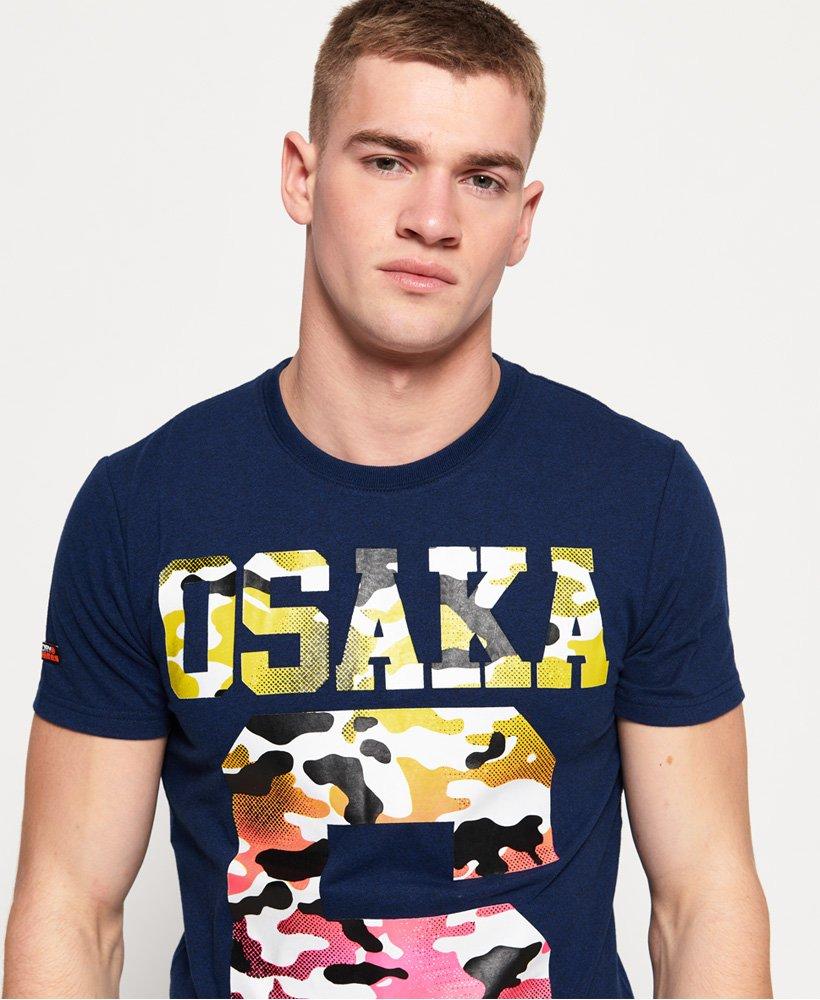 Superdry T shirt léger entièrement imprimé Osaka pour Homme