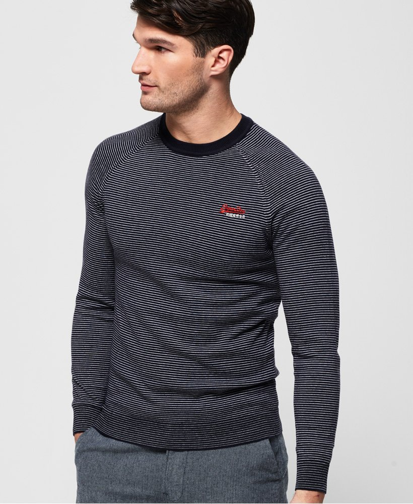 Superdry Cotton Crew Jumper thumbnail 1