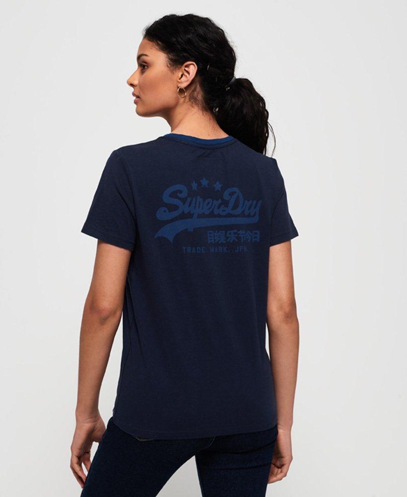 Superdry Womens Vintage Logo Heritage T-Shirt