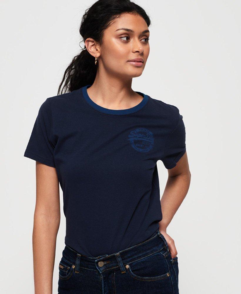 Superdry T-shirt Heritage con logo Vintage thumbnail 1