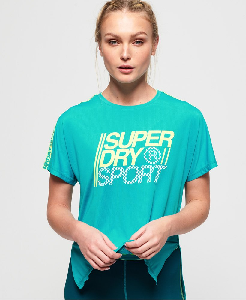 Superdry Løs Core T-shirt  thumbnail 1