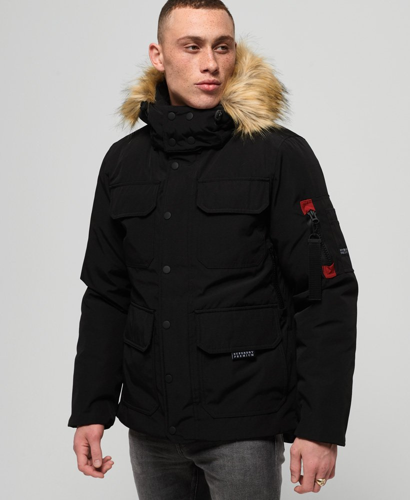 Superdry Premium Hideout Down Jacket thumbnail 1