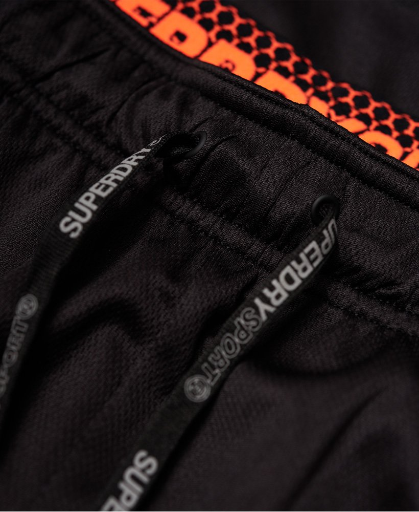 New Superdry Active Relaxed Shorts Black Size XXL