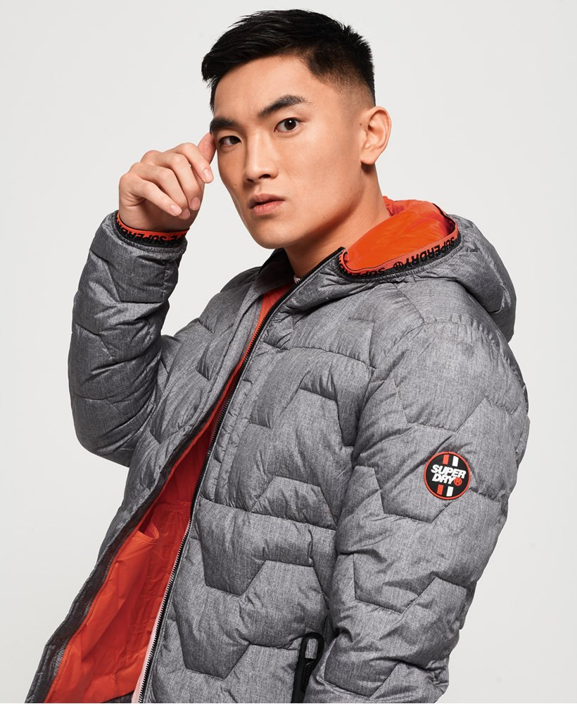 Superdry Hex Steppjacke  thumbnail 1