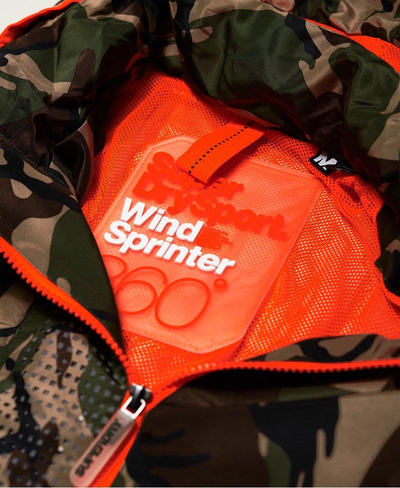 Giubbotto mimetico Sprint Attacker da Uomo Superdry a14f5f39477