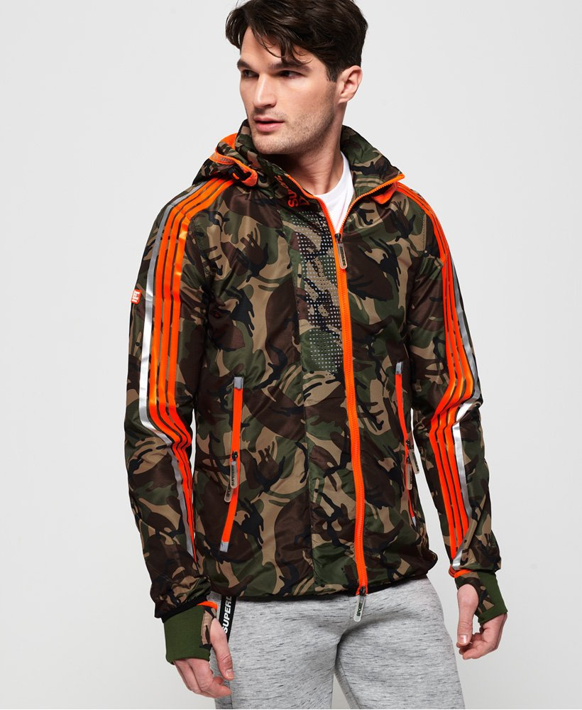 Superdry Sprint Attacker Camo Jacket  thumbnail 1