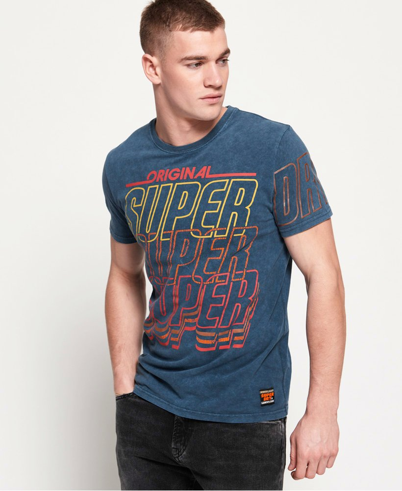 Superdry Spectrum Graphics Mid Weight T-shirt thumbnail 1