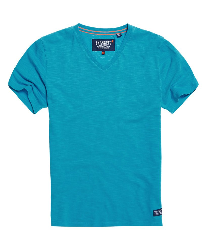 Superdry T-shirt a maniche corte e scollo a V Dry Originals