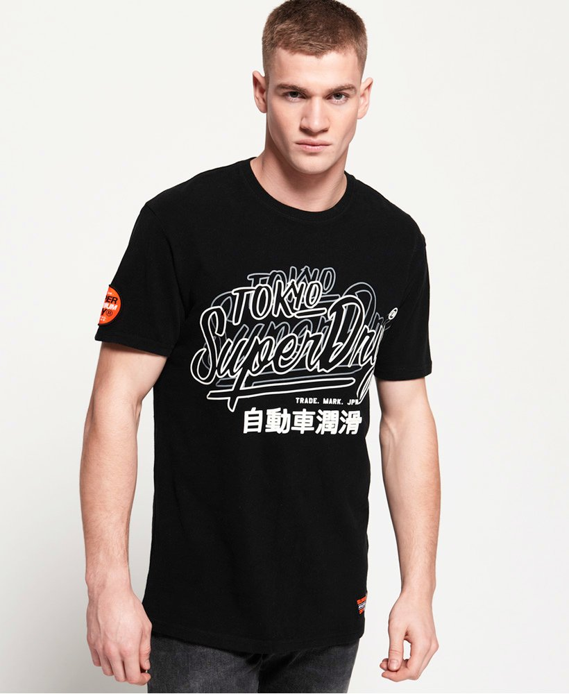 Superdry Reactive Classic Box Fit T-Shirt thumbnail 1