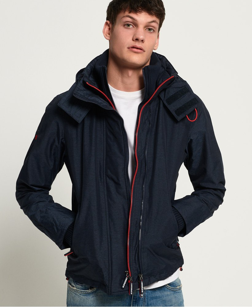 Superdry Veste à capuche Technical Pop Zip SD-Windcheater thumbnail 1