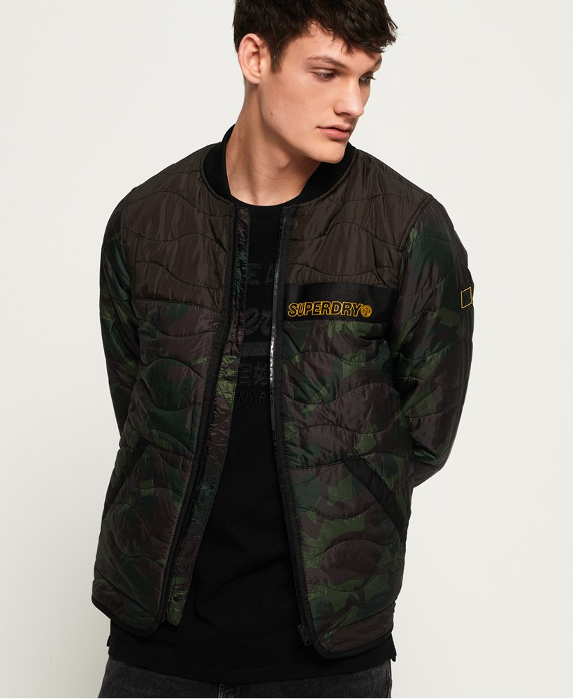 Superdry Air Corps Padded Liner Jacket  thumbnail 1