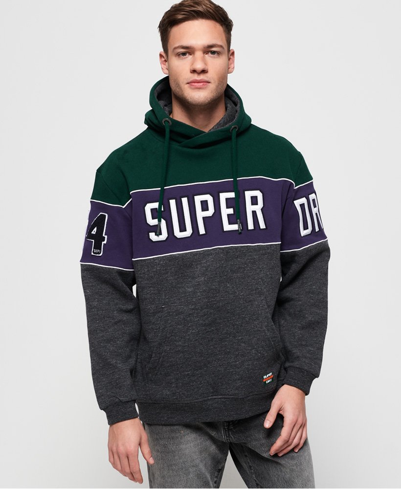 Superdry Academy 54 Panel Hoodie thumbnail 1