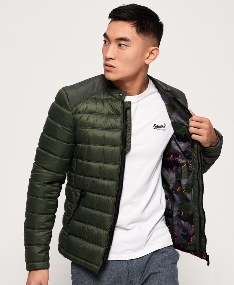 Superdry Commuter Steppjacke im Bikerstil  thumbnail 1