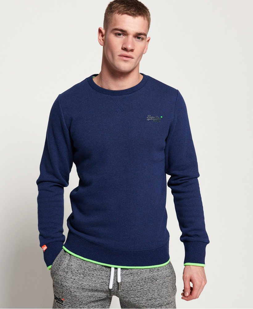 Superdry Orange Label Hyper Pop Crew Sweatshirt  thumbnail 1