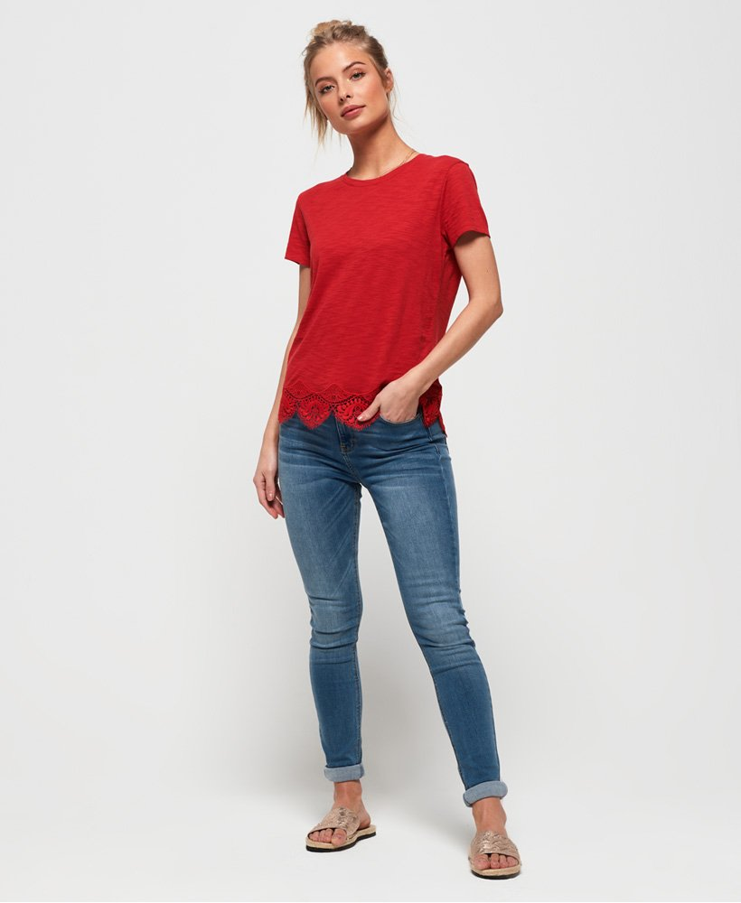 Superdry Sophia smala jeans  thumbnail 1
