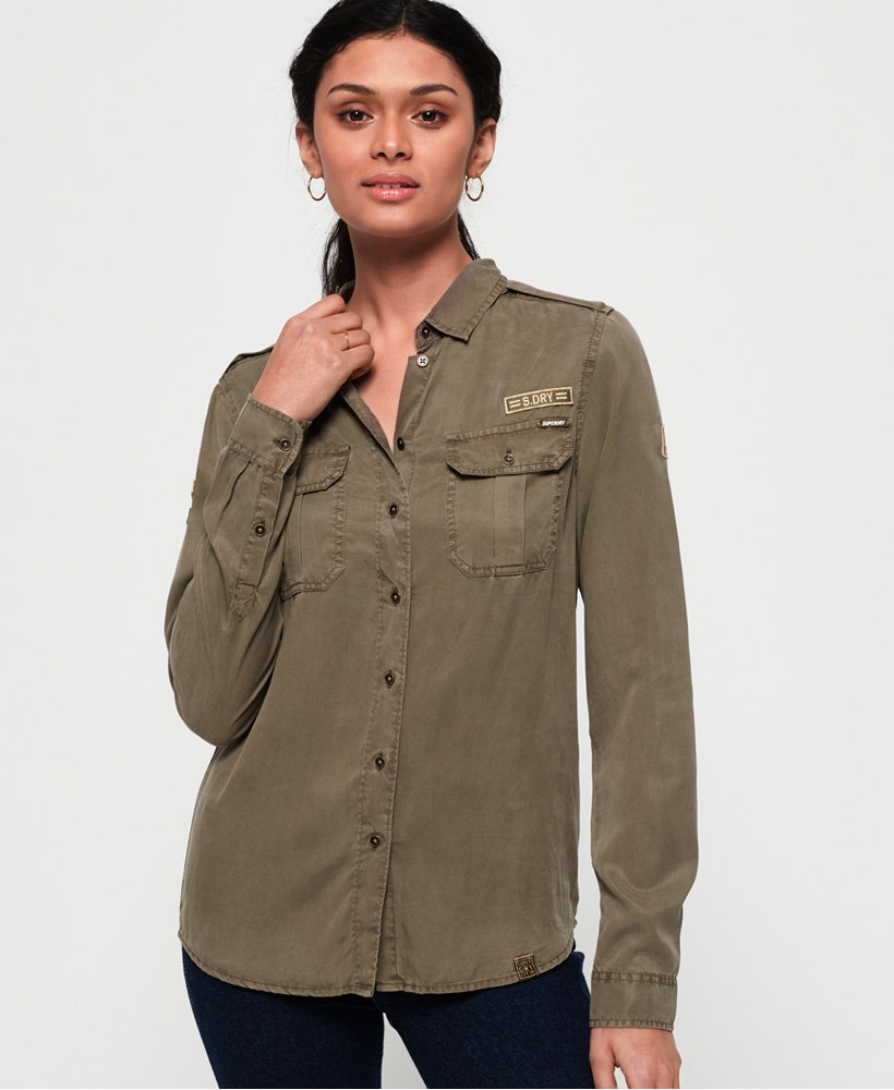 Superdry Ramona Military Shirt