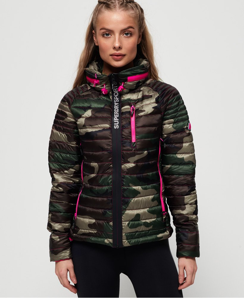Superdry Power Pop Camo-jakke