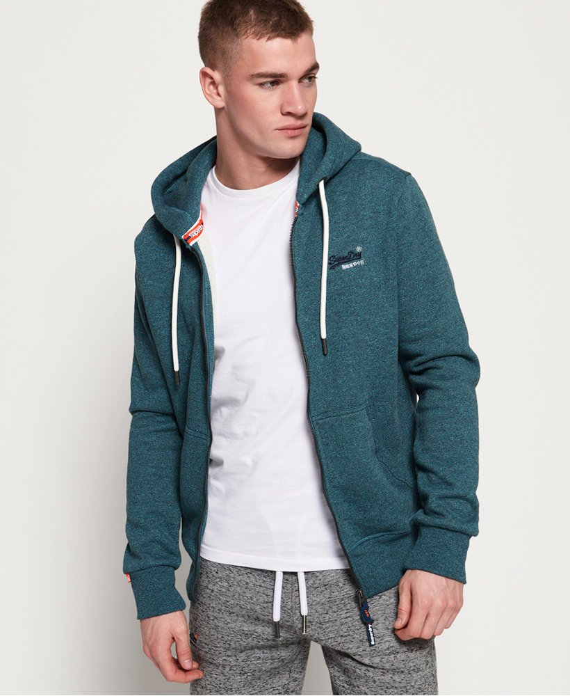Superdry Orange Label Classic Zip Hoodie Men's Hoodies